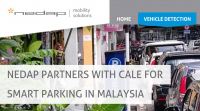 Nedap partners with Cale for Smart Parking in Malaysia