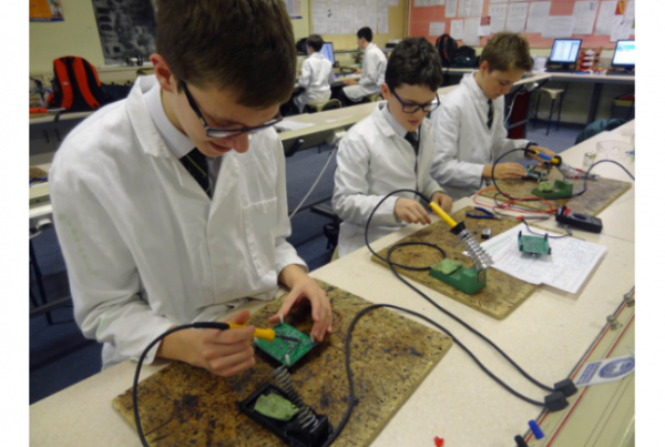 Flowbird Expands Electronics Capabilities at Poole Grammar School