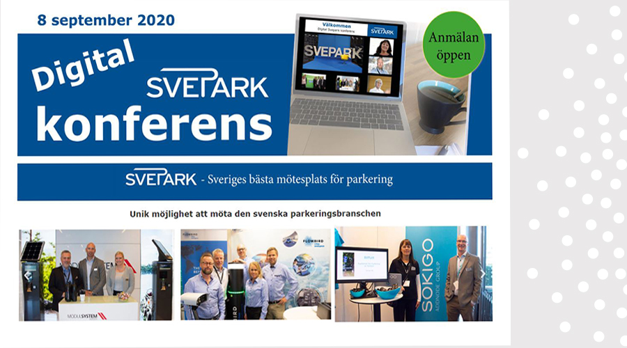 Svepark konferens (Digital) - SAVE THE DATE!